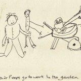 The Understair Peeps gardening disaster