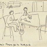 The Understairs Peeps pub disaster