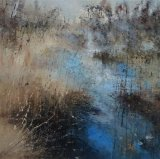 Calm at shatterford 3 100x100cm