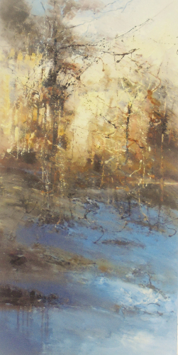 'First Frost' 100x50cm