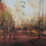 Soaked in dusk 90x90cm