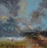 Summer cloud burst 60x60cm,
