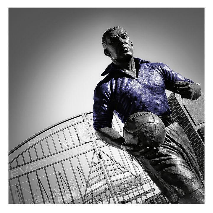 Dixie Dean Statue - Goodison Park - Everton FC