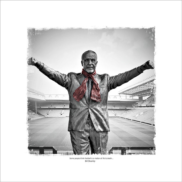 Shankly Statue, Anfield, Liverpool FC