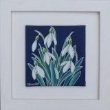Snowdrops Mini 1 Framed