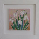 Snowdrop Mini  2 Framed