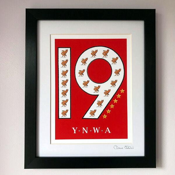 Reds 19 YNWA