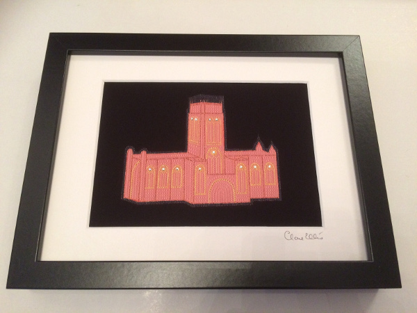Liverpool Cathedral (black)