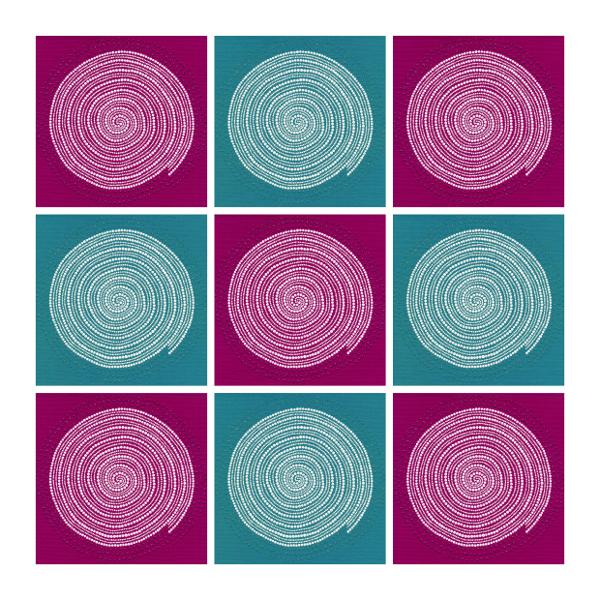 Mesmeric swirls