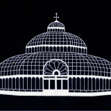 The Palm House, Liverpool (black)