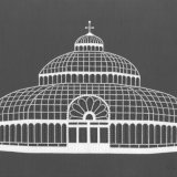 The Palm House, Liverpool (grey)