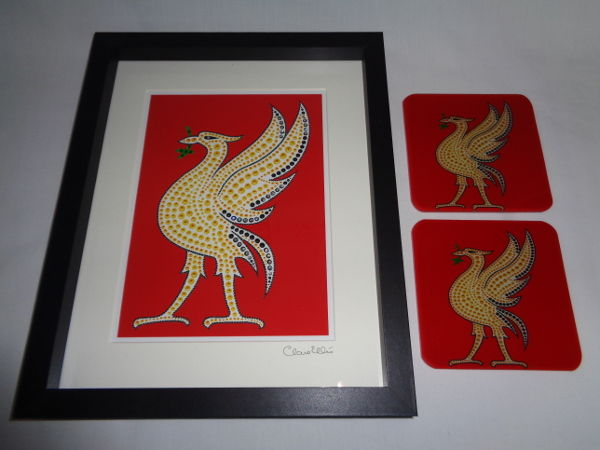 LIVER BIRD (RED) SET