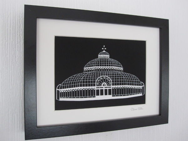 The Palm House (black)