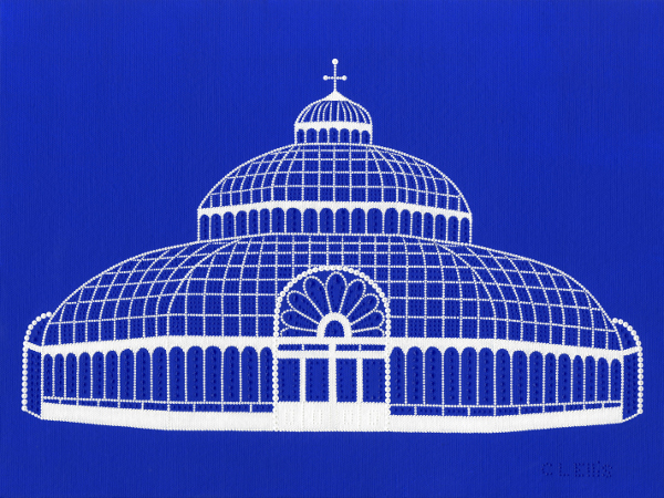 The Palm House, Liverpool (blue)