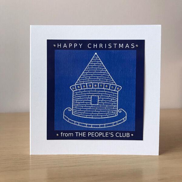 Christmas card - everton