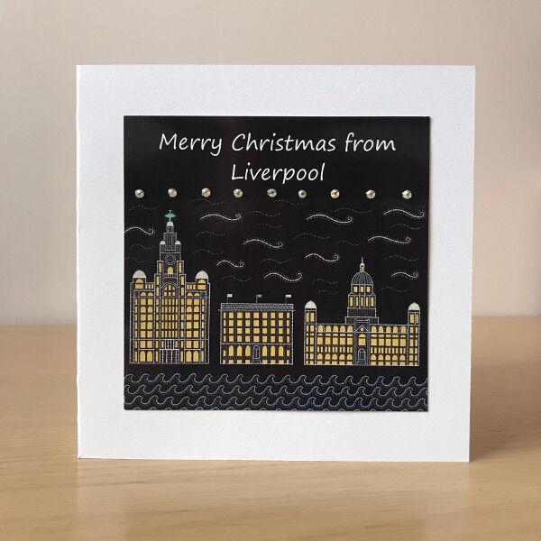 Christmas card - three graces
