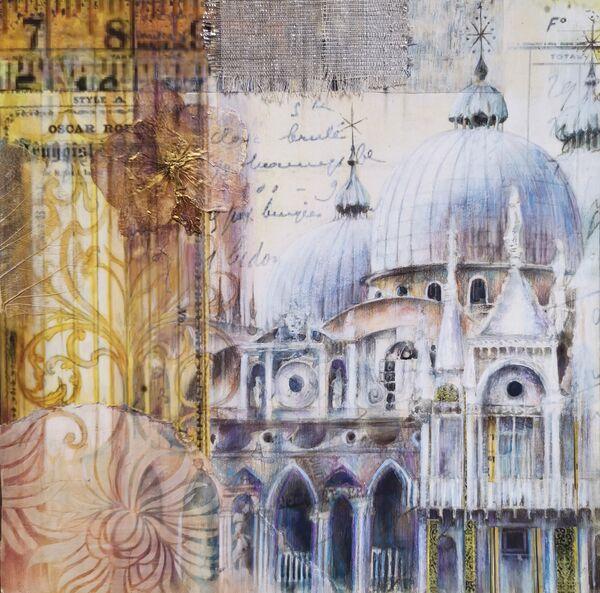 Basilica San Marco 29x29cm