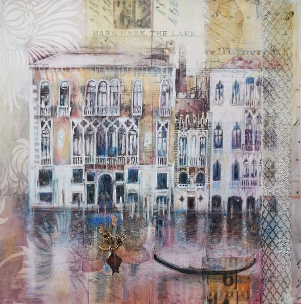 Grand Canal 29 x 29cm