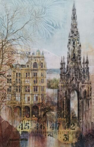 Jenners and the Scott Monument *Sold*