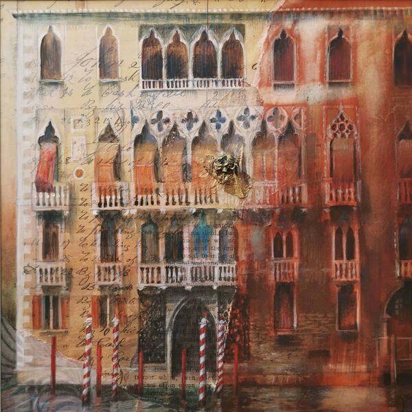 Palazzo Giustinian 29 x29cm