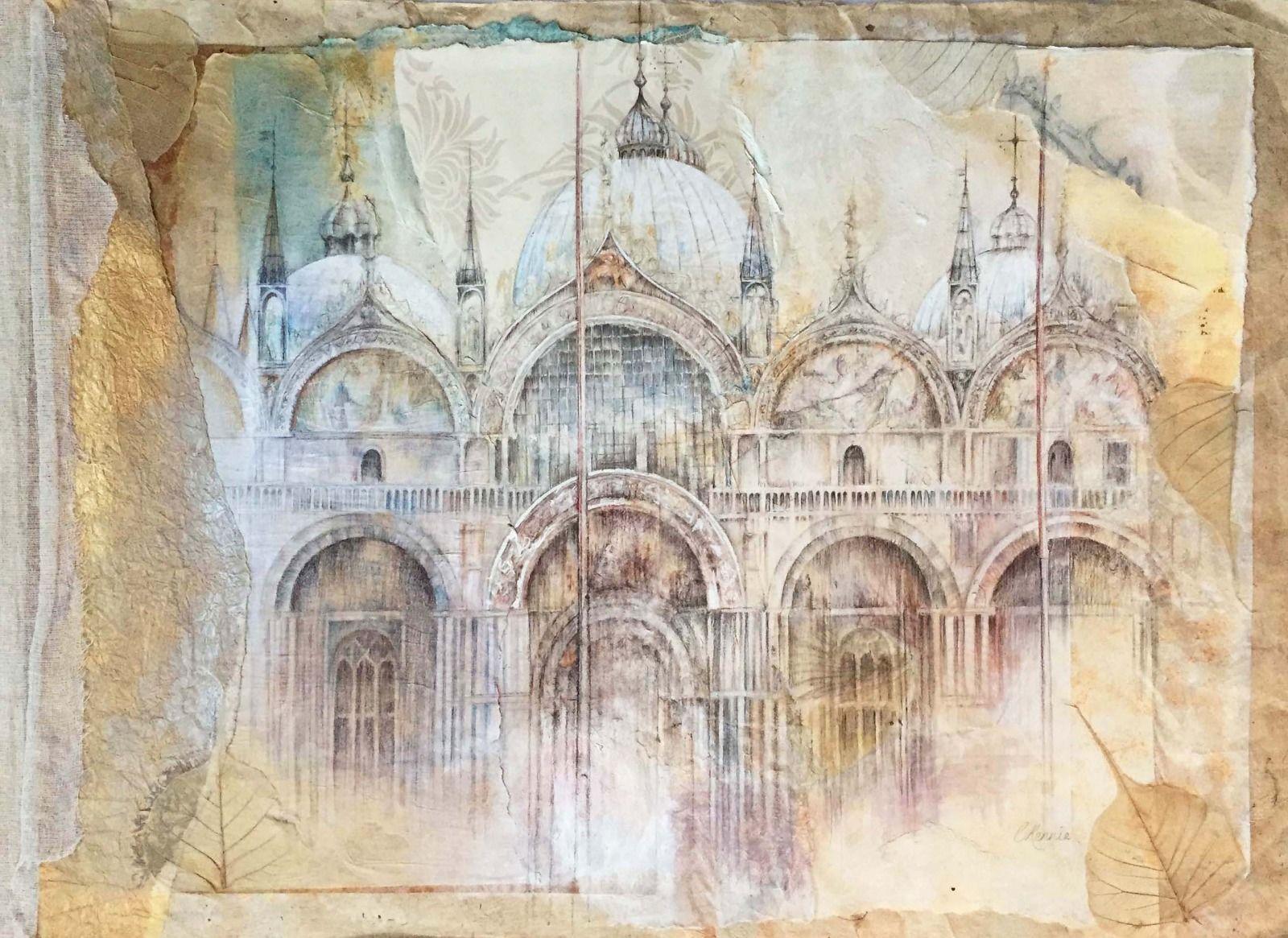 St Mark's Basilica  81x58cm