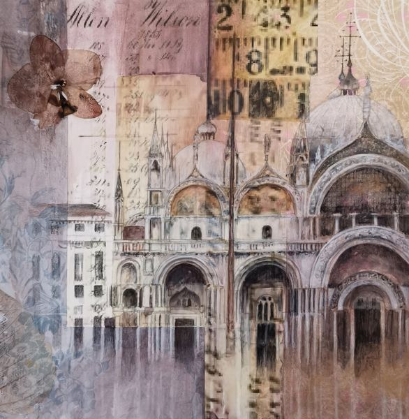 St Marks Basilica 29 x 29cm