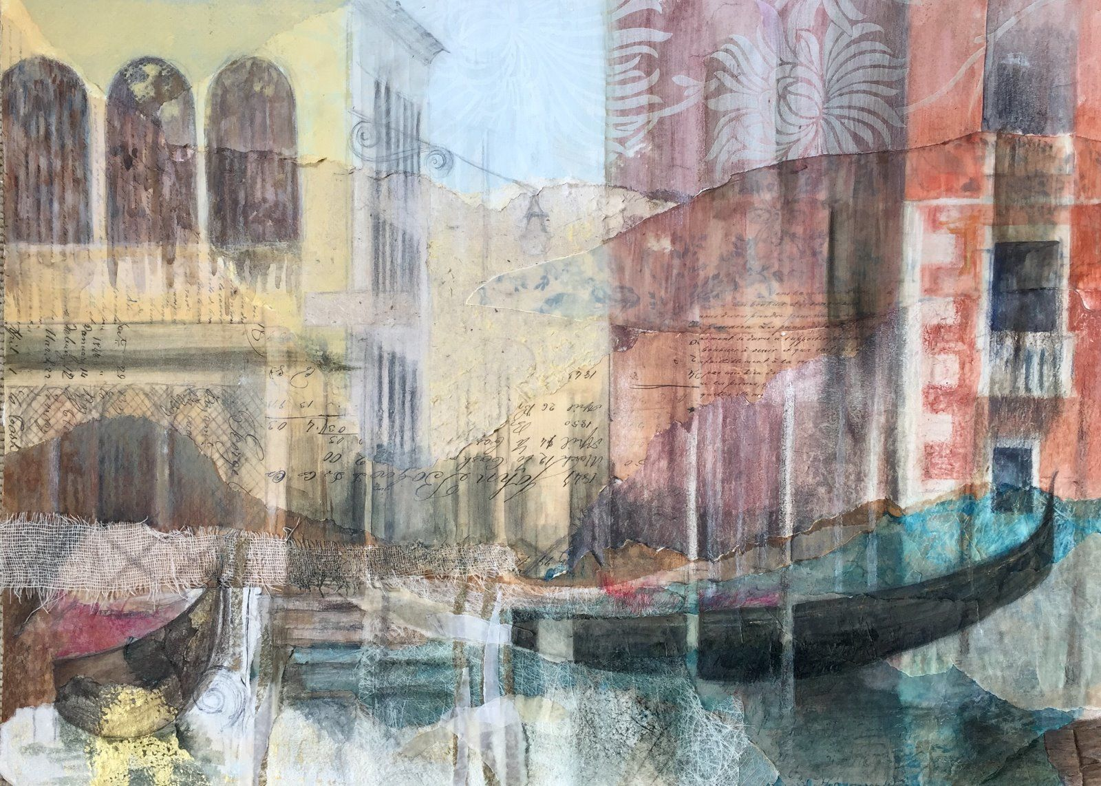View From The Grand Canal *Sold*