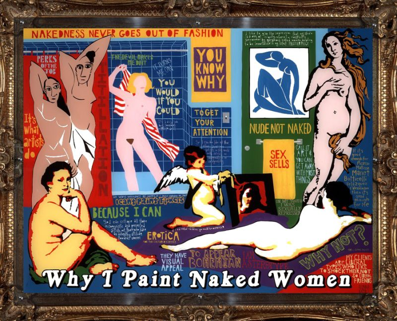 Why I paint naked women