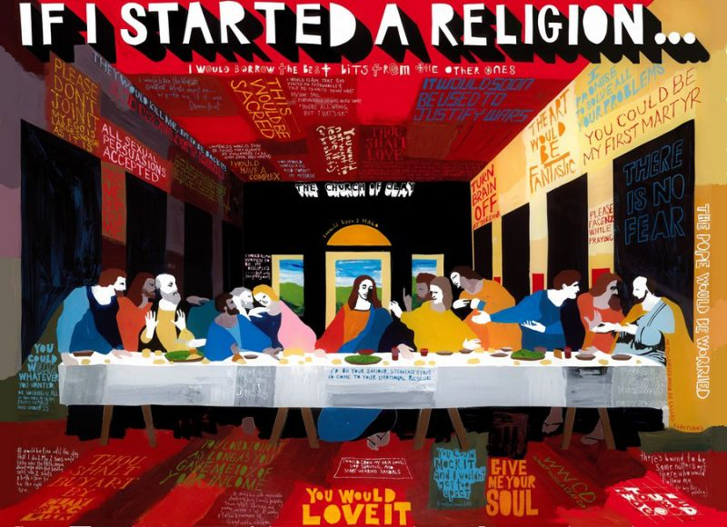 If I started a religion
