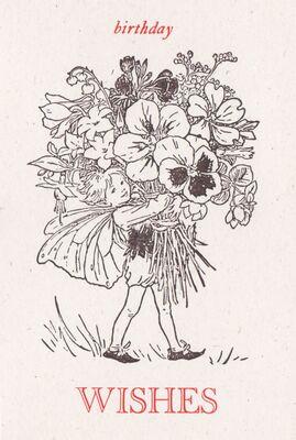 BIR-001-13 Flower Fairy