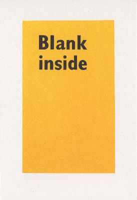 Hum-002-18 Blank inside