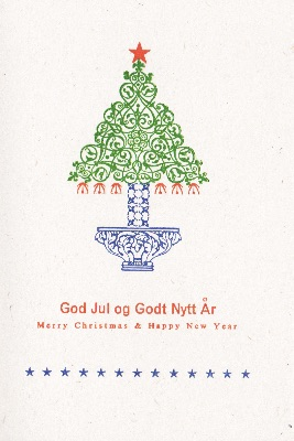 Chr-006-18 God Jul & Godt Nytt År