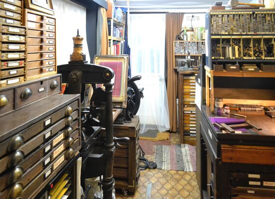 Cleeve Press Printing Office