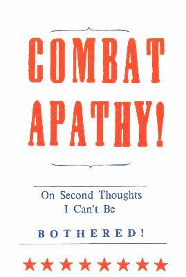 Hum-002-02 Combat Apathy