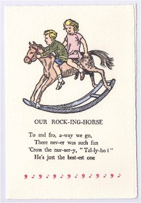 FW-017-01 Rocking Horse
