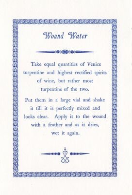 Rto-003-13 Wound Water