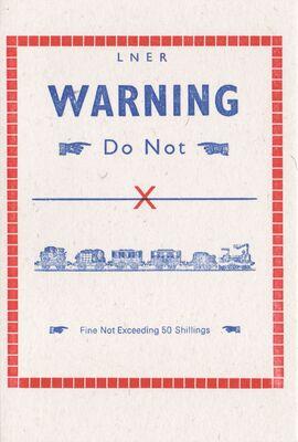 Rto-003-25 LNER Warning