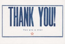 Th 005 02 Thank you Star