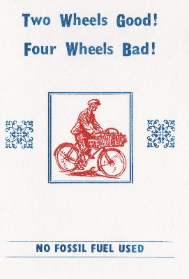 Hum-002-12 Two wheels good (spelling)
