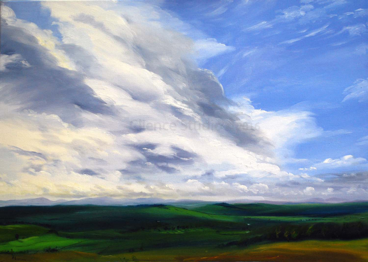 Big skies over Galloway