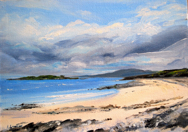 Shifting Clouds over Carrick Bay