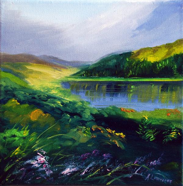 Light on Loch Trool 1