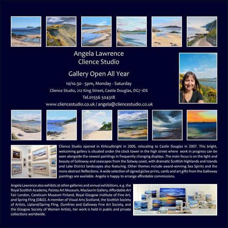 Galloway Landscapes 2021 Calendar (back cover)