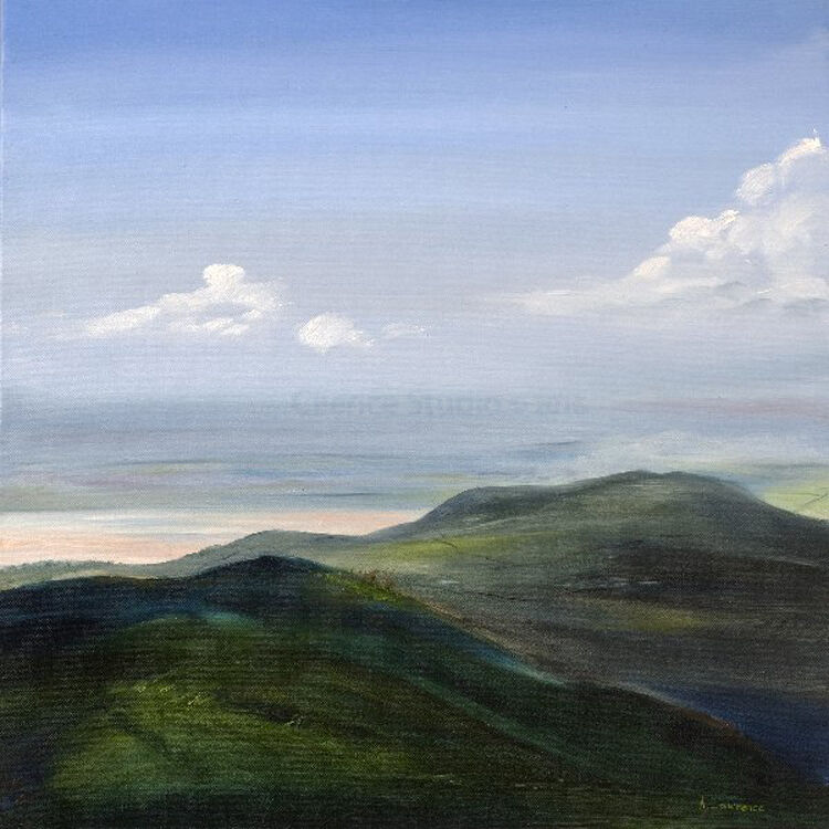 Clouds over Galloway, from Cambret