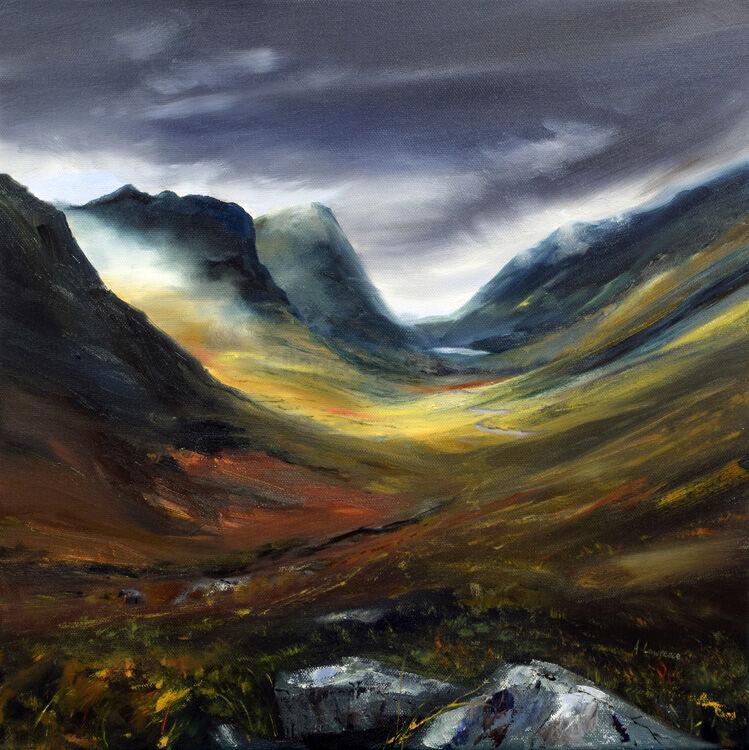Light Through the Mist at glencoes