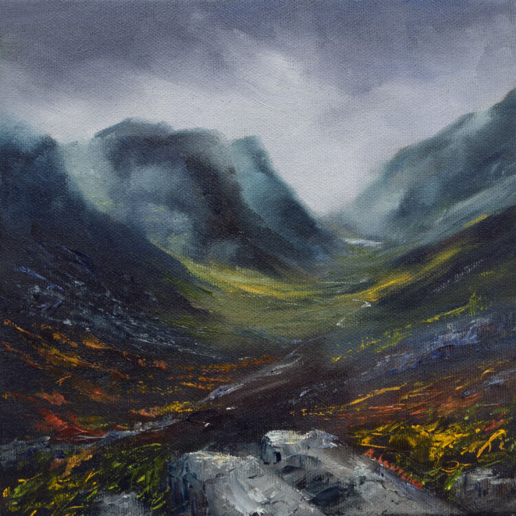 Rising Mist at Glencoe
