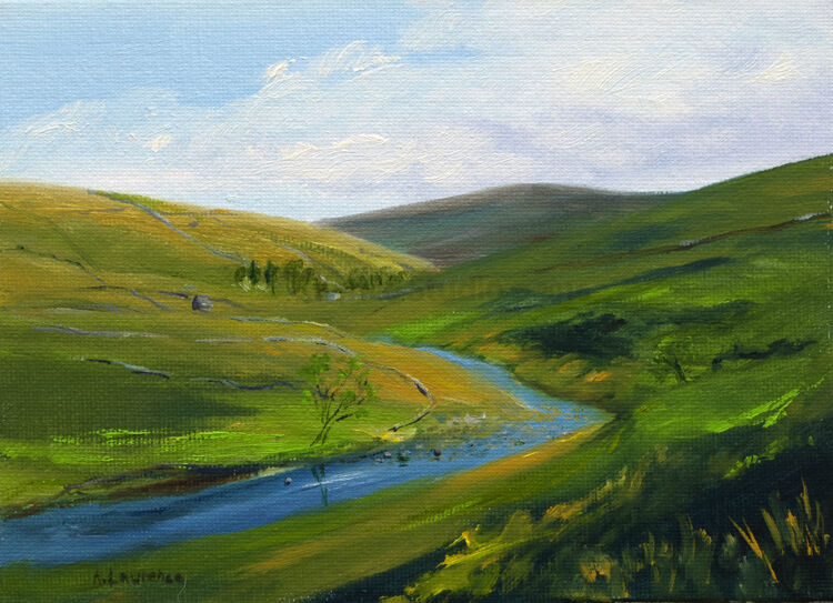 Play of Light, Swaledale