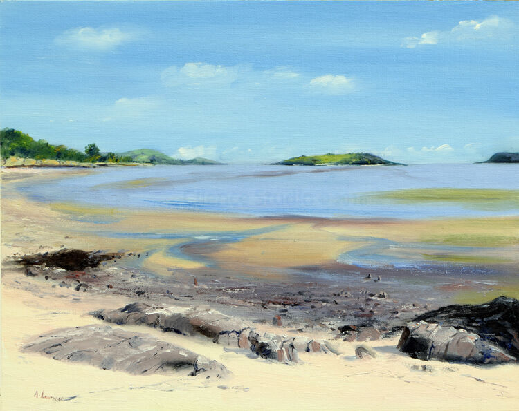 Colours as the Tide Goes Out at Kippford