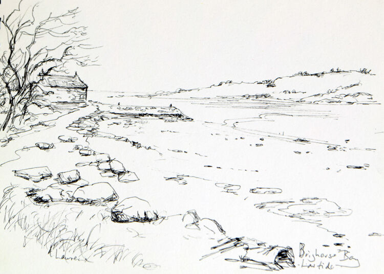 The cottaage on the Shore, Brighouse Bay