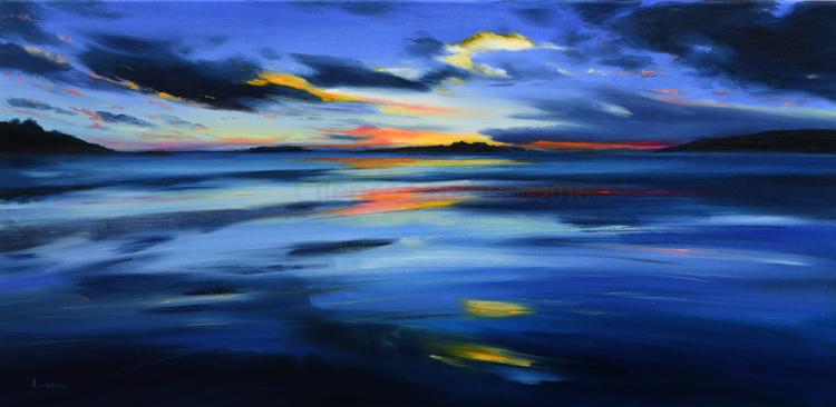 Sweeping Sunset Fleet Bay